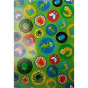 Critters Gift Wrap (700mm x 495mm) Pk 1