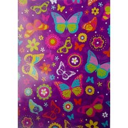 Butterflies Gift Wrap (700mm x 495mm) Pk 1