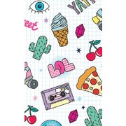 Gift Wrap Teen Girl 2 Cool For School 700mm x 495mm Pk 1