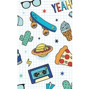 Gift Wrap Teen Boy 2 Cool For School 700mm x 495mm Pk 1