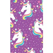 Gift Wrap Unicorn Rainbow 700mm x 495mm Pk 1