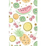 Gift Wrap Fruits 700mm x 495mm Pk 1