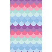 Gift Wrap Mermaid Waves 700mm x 495mm Pk1 Art
