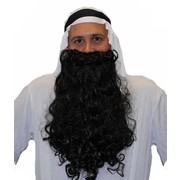 Long Black Sheik Beard Pk 1