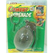 Electronic Hand Grenade with Battle Sounds Pk 1
