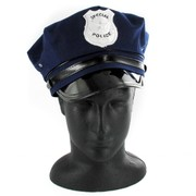 Navy Blue Police Hat Pk 1
