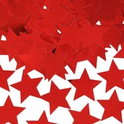 30mm Red Stars Confetti Pk 1 (25g)