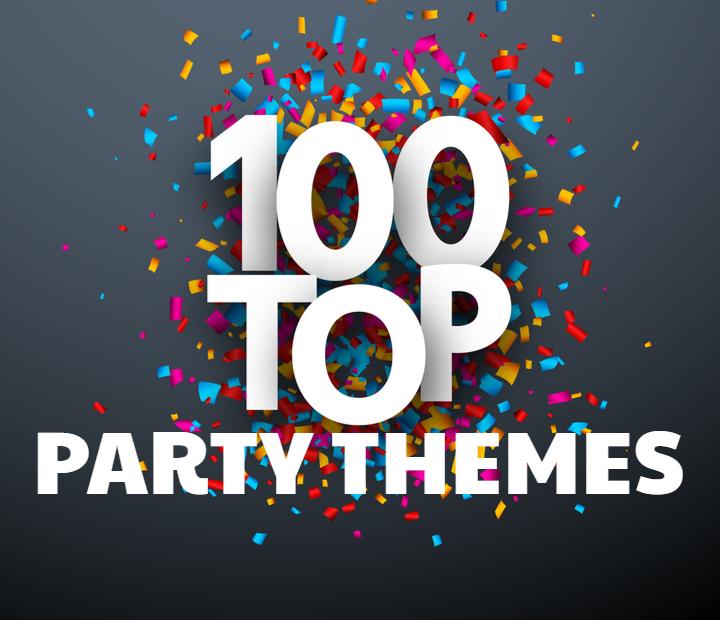 Top 100 Party Themes Shindigs Com Au